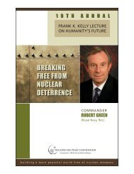 breaking free from nuclear deterrence breaking free from nuclear ...