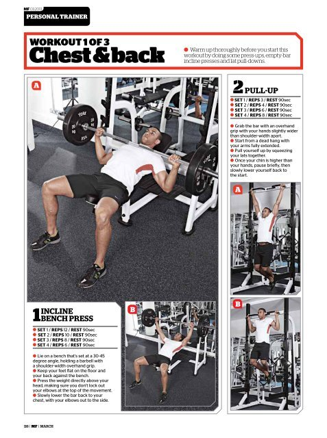 the PYRAMID POWER WORKOUT  - Men's Fitness Magazine