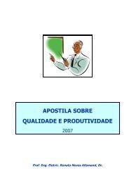APOSTILA SOBRE QUALIDADE E PRODUTIVIDADE - Acesso
