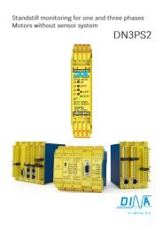 dn3ps2-e -manual-v4x - Safety for men and machines