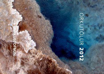 Orkutölur 2012 - Orkustofnun
