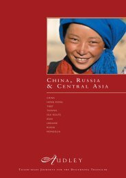 Audley in China, Russia and Central Asia - Audley Travel