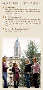 FORTBILDUNG in Verhaltenstherapie 2010 - GAP - Seite 2