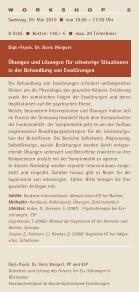 FORTBILDUNG in Verhaltenstherapie 2010 - GAP - Seite 4