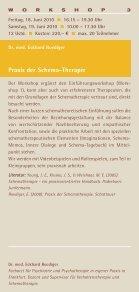 FORTBILDUNG in Verhaltenstherapie 2010 - GAP - Seite 5
