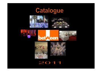 Catalogue Between 2011 - Gate24.ch