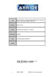 Title Economic Reform and Social Sector Expenditures: A Study of ...