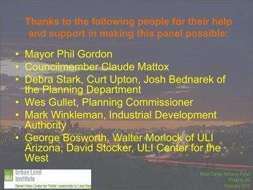 presentation - Urban Land Institute