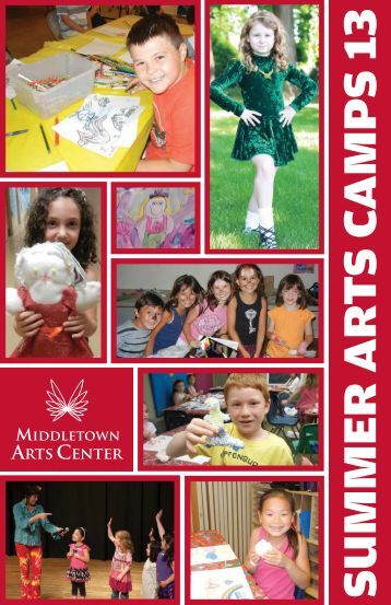 2013 Summer Arts Camps Booklet - Middletown Township Cultural ...