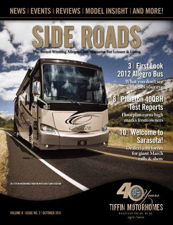 neWs | eVents | reVieWs | moDel insiGHt | AnD ... - Tiffin Motorhomes