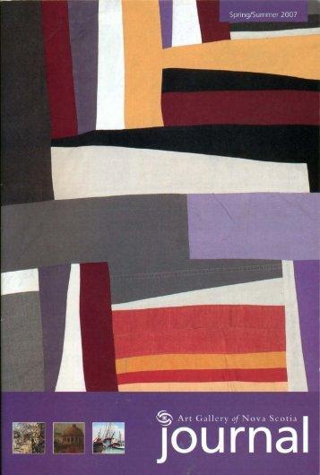 View this journal as a .pdf - Art Gallery of Nova Scotia