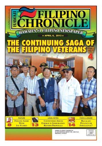 FEBRUARY 19, 2011 APRIL 6, 2013 - Hawaii-Filipino Chronicle