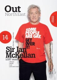 LGBT month - out! northeast magazine
