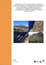 Identificación y selección de especies ... - Interreg Bionatura
