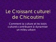 Diapositive 1 - Conseil québécois du loisir