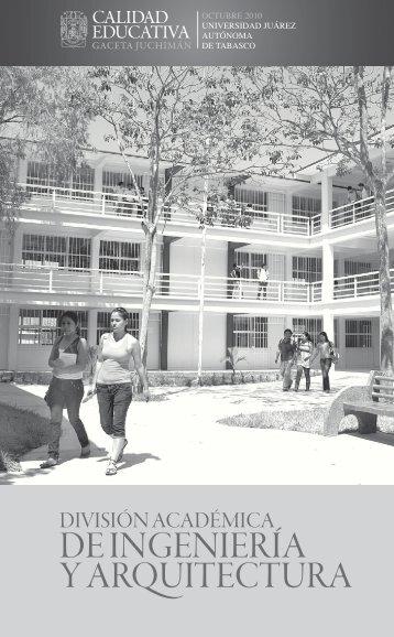 División Académica de Ingeniería y Arquitectura - Publicaciones