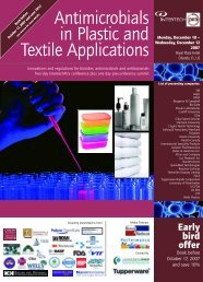 Antimicrobials in Plastic and Textile Applications