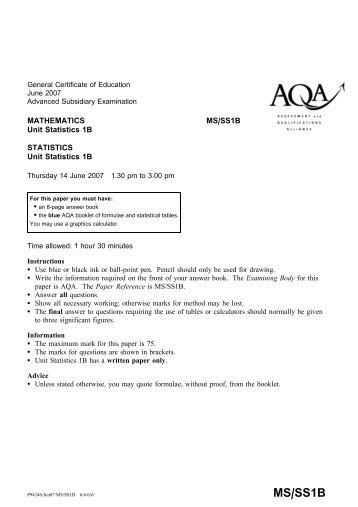 Gce A Model Paper