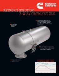 3-WAY CATALYST XLS. - Cummins Emission Solutions