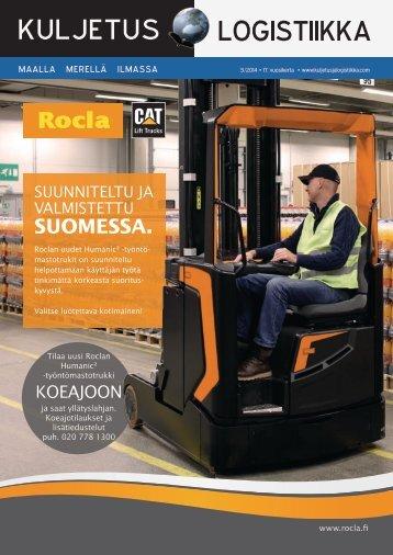 Kuljetus & Logistiikka 5 / 2014