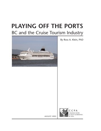 Playing Off the Ports: How BC Can Maximize - Cruise Junkie dot Com