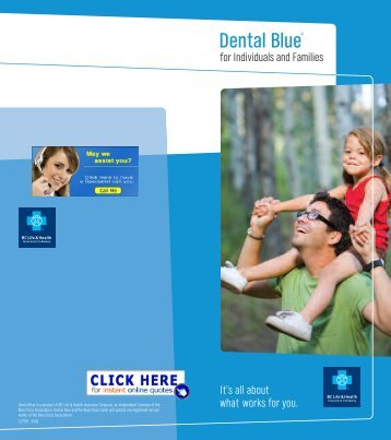 Dental Blue® - Health Insurance