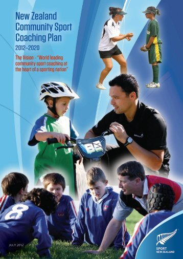 The New Zealand Community Sport Coaching Plan 2012-2020