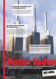 Der Rote Faden - DIE LINKE. Regionsfraktion Hannover