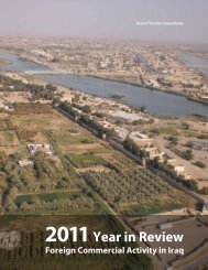 Year in Review - Iraq Business News