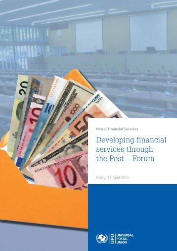 a forum on the development of postal financial services