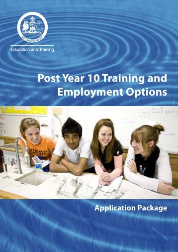 Approval Statement Application Pack 2011 - Education and Training ...