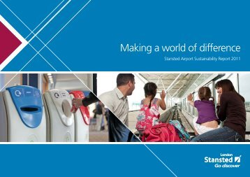 View Sustainability Report 2011 - London Stansted Airport