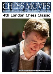 4th London Chess Classic - The English Chess Federation
