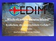 """Risikokarten Deutschland"" - E+S Rück"