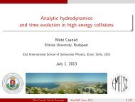Analytic hydrodynamics and time evolution in high energy collisions