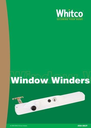 Window Winders - Seymour Locksmiths