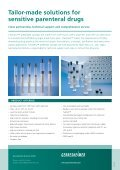 Tailor-made solutions for sensitive parenteral drugs - Gerresheimer - Page 2