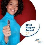 Zetes Rapport Annuel