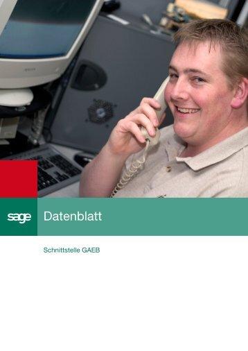 Zusatz-Schnittstelle GAEB - Sicleipzig.de