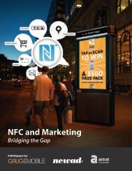 NFC and Marketing - JCDecaux North America