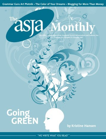 October 2007 - The ASJA Monthly