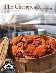 Summer, 2012 - Chesapeake Bay Maritime Museum