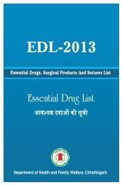EDL Final 2013 upload - State Health Resource Centre, Chhattisgarh