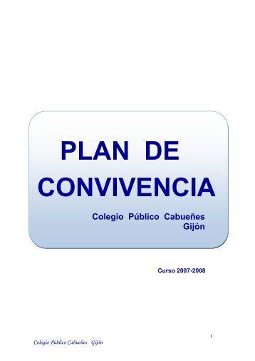 PLAN DE CONVIVENCIA - educastur.princast