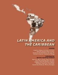 Latin America and the Caribbean - Choike