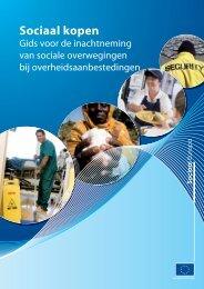 Sociaal kopen - Gids voor de inachtneming van sociale ... - Europa