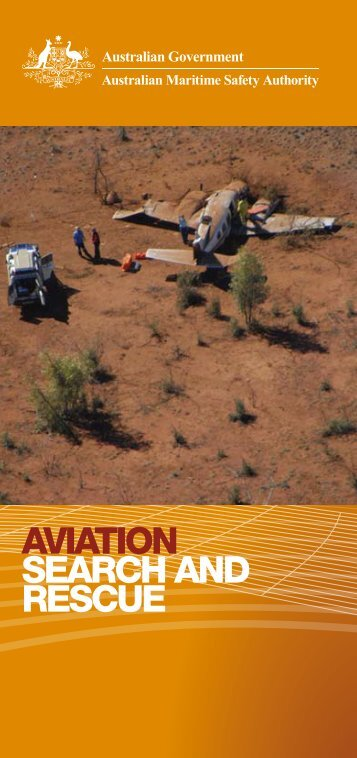 aviation search and rescue - Australian Maritime Safety Authority