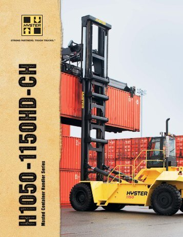 Product Brochure - Hyster Company