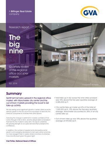 The Big Nine Q2 2014