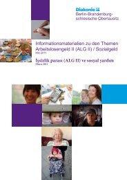 ALG II - Diakonisches Werk Berlin-Brandenburg-schlesische ...